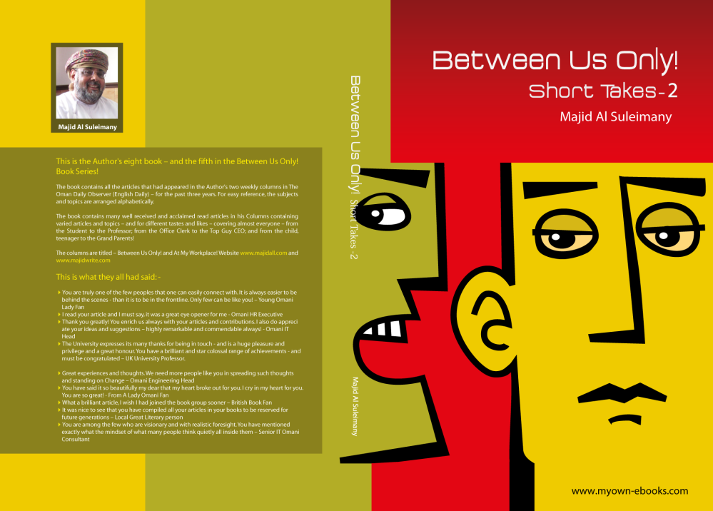 Title: Between Us Only!: Short Takes – Two!